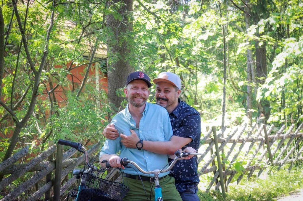 Best way to experience the lake Tuusula is by renting a bike