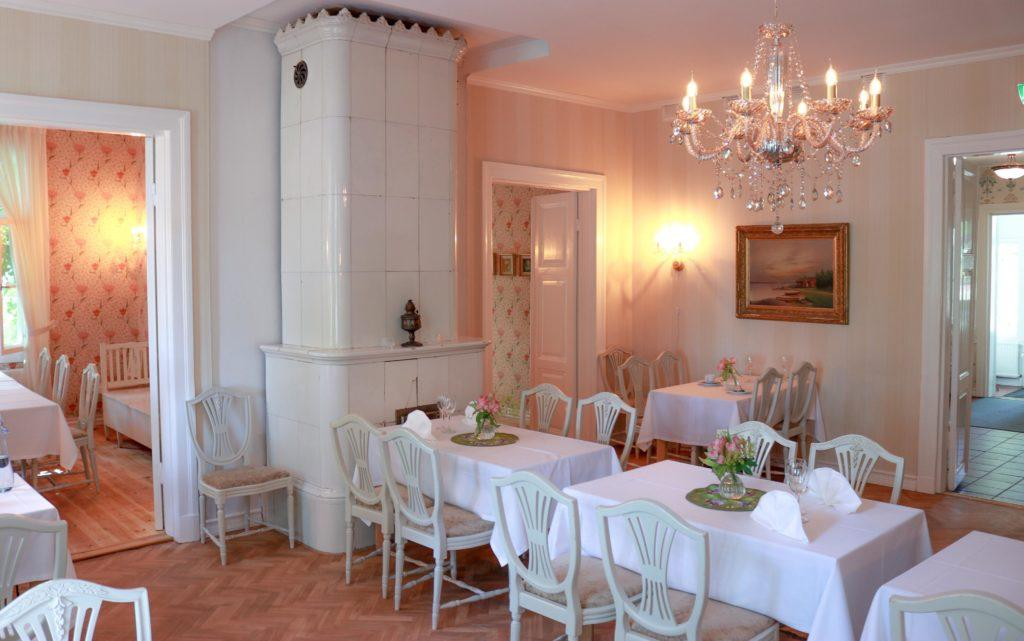 The beautiful and newly renovated restaurant Krapihovi