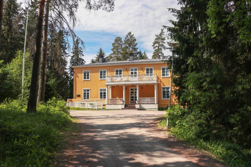 Ahola, Juhani Aho's former residence currently used as a museum