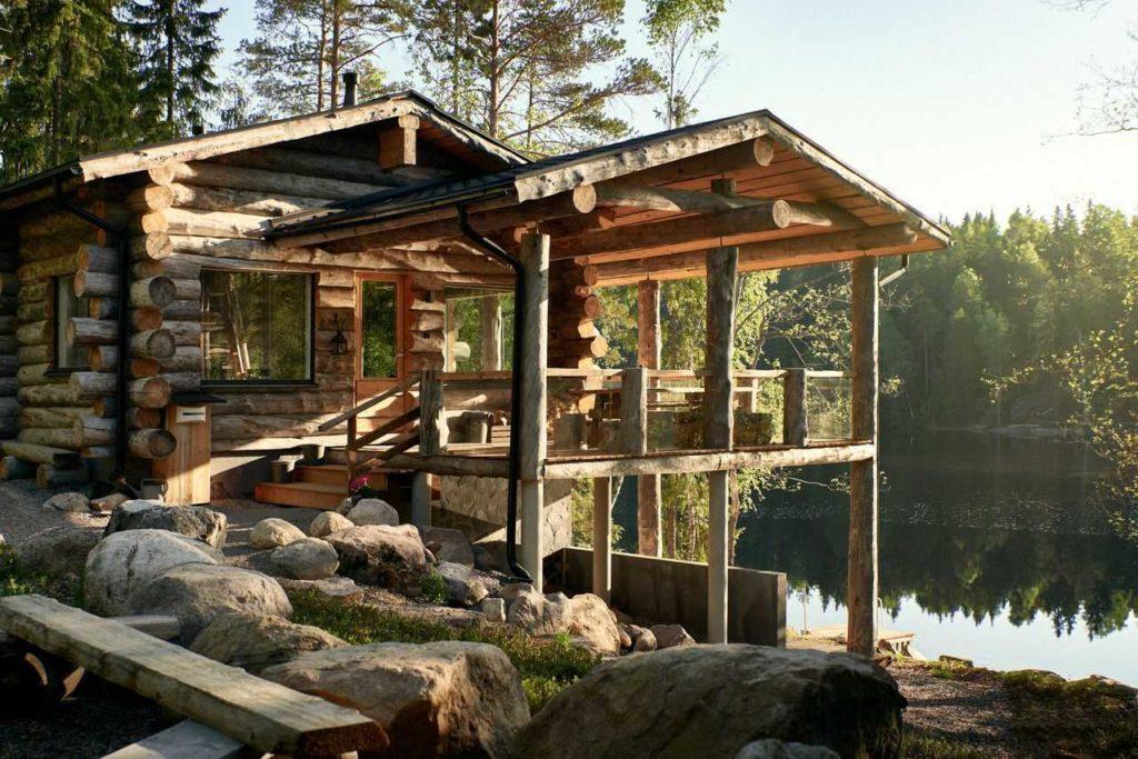 Gay/LGBTQ friendly cottage resort Hawkhill in Espoo Finland, sateenkaariystävällinen Suomi yhteisön jäsen
