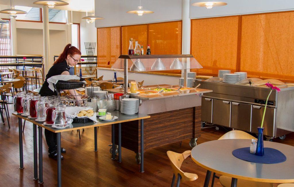 Gay/LGBTQ friendly cafe/restaurant Sarrit in Inari Finland, sateenkaariystävällinen Suomi yhteisön jäsen
